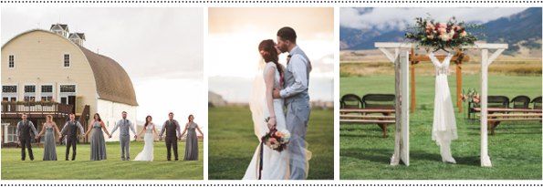Rocky Mountain Bride: Emily & Connor | Big Yellow Barn, Montana