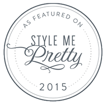 Style Me Pretty - 2015 Online Feature